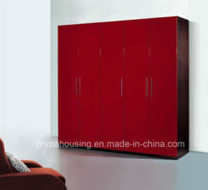 High Glossy Paiting E1 MDF Bedroom Wardrobe pictures & photos