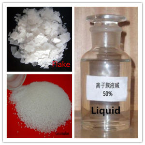 Caustic Soda (NaOH) , Flake Pearls 96%-99% Liquid 49%-52% Industrial Grade pictures & photos