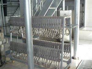 Aluminum Gravity Casting Red Meat Hook pictures & photos