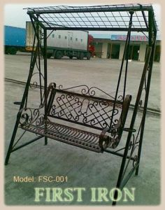 Iron Swing Chair For Garden (FSC 001)