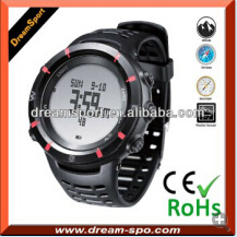 Digital Altimeter Watch with Compass Thermometer