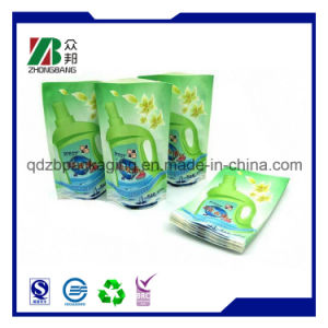 Customize Laundry Detergent Packaging Spout Pouch pictures & photos