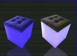 LED Cube with Cushion (B005) pictures & photos