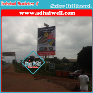 Solar Power Solution LED Lighting High-Way Outdoor Solar Advertising Billboard pictures & photos