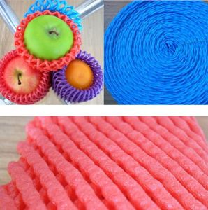 FDA Approved Plastic Protective Fruit Net Tubular Foam Sock pictures & photos