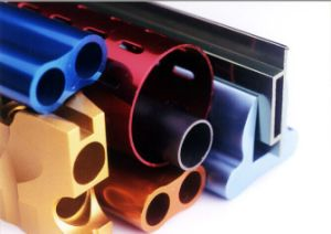 Powder Coating Aluminium Profile/Oxidation Coloring Aluminum Alloy  Extrusion Parts