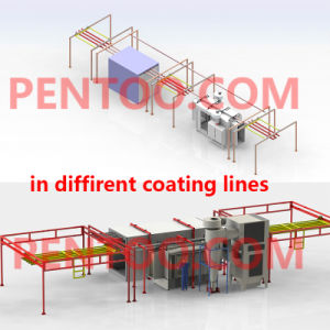 High Quality Manual Powder Coating Booth for Electrostatic Powder Coating pictures & photos