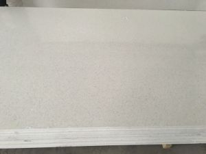Pure White Quartz Tops for Bathroom and Kitchen