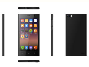 5 Inch Super Thin Quad Core 3G, GPS, Bt, Dual SIM Dual Standby Smart Phone M53