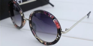 2014 New Wholesale Vintage Style Fashion Sun Glasses No Logo Polarized Retro Sunglasses (006)