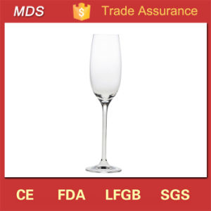 Fancy Wedding Toasting Lead Free Champagne Glass Flute Crystal pictures & photos