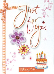 Handmade Birthday Greeting Cards (CB13-003)