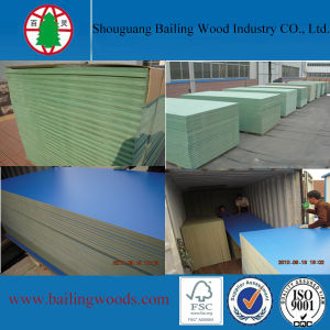 High Quality Green Core Water Resistant MDF