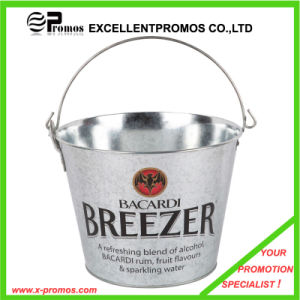 Promotional Logo Custom Ice Beer Tin Buckets with Handle (EP-AB7311) pictures & photos