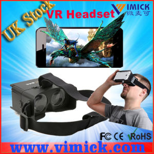 Plastic Google Cardboard Vr Headset Smartphone Supplier in China