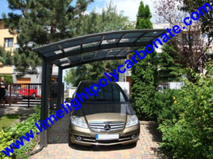 single carport free standing carport aluminium carport with polycarbonate solid sheet covering aluminium