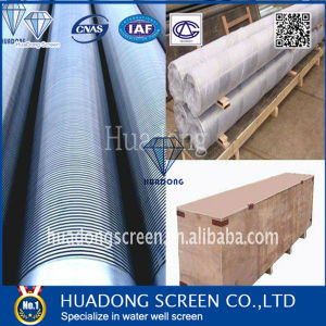 OD219mm SS304 Wedge Wire Screen/Stainless Steel Well Screen Pipe pictures & photos