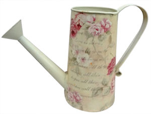 Classical Flower Metal Watering Cans for Garden  (WC-A-14)