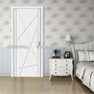 New Material WPC Extruded Raw Material/Painting Door (YM-048) pictures & photos