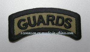 Delicate Olive Green Embroidery Patch for Miltary&Police pictures & photos