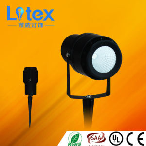 9W Pkw Aluminium LED COB Spike Spot Light (LX308/9W)