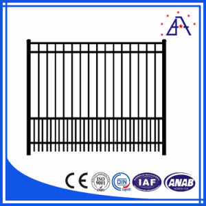 Black Aluminum Picket Fence for Powder Coating pictures & photos