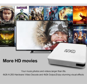 Hot Selling Smart TV Box with Quad Core S905 Support H. 265 and 4k
