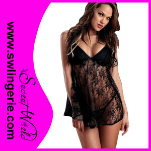 Lady′s Fashion Sexy Lingerie Baby Doll