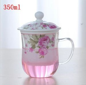 Mug for Tea, Glass Cup Hand Blown, 350ml Tea Cup pictures & photos