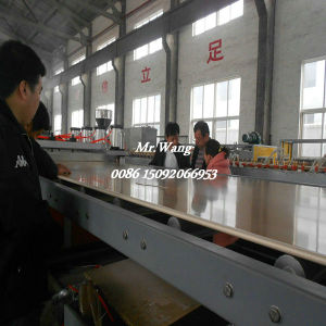 WPC Foam Board Extrusion Line Plastic Extrusion Lines for PVC