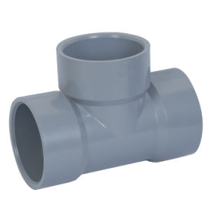 Pph Pipe Fittings/Plastic Equal Tee pictures & photos