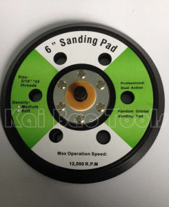 6inch Sanding Backing Pad with 6 Holes pictures & photos