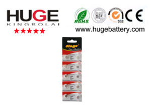 High Quality Alkaline Button Cell Battery AG4 pictures & photos