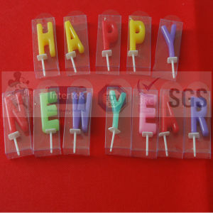 Main Product Birthday Letter Candles pictures & photos