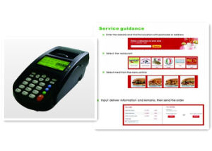Kmy801d3 3G & WiFi Handheld Receipt Printer for Online Ordering and Takeaway pictures & photos