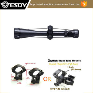 Military Scope 3.5-10X50 Red Green DOT Riflescope Sight 10mm 20mm Rail Mount pictures & photos