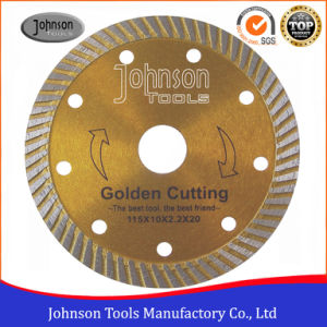 115mm Hot Press Sintered Circular Saw Blade for Cutting Granite pictures & photos