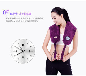 Electric Vibration Shoulder Massage Belt Homdics Neck Massager Machine pictures & photos