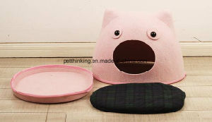 Cute Fashion Felt Puppy House, Dog Beds, Cat House pictures & photos