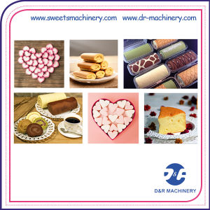 Industrial Food Manufacturing Equipment for Cotton Candy/Layer Cake/Swiss Roll pictures & photos