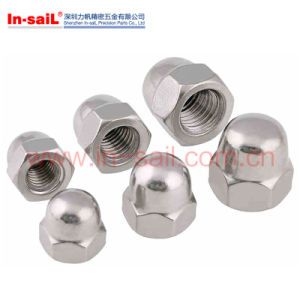 DIN Hexagonal Acorn Cap Nuts pictures & photos