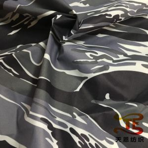 300t Printed Garment Fabric Nylon Taffeta Print Fabric for Down Jackets pictures & photos