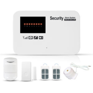 2017 Wireless Home GSM Alarm System with Built-in Siren pictures & photos