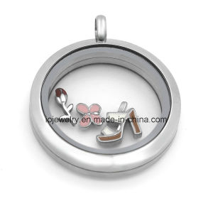 Magnetic 316 Stainless Steel Floating Locket Pendants pictures & photos