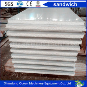 Cheap Price of Polystyrene Foam Sandwich Wall Panel EPS Panel Made of Corrugated Steel Sheet PPGI Profiled Steel Sheet Color Coated Steel Sheet pictures & photos