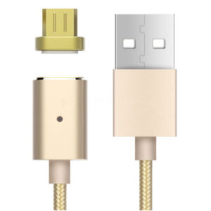 2 in 1 Metal Connector Dustproof Plug Braided Magnetic USB Lightning Cable for iPhone 7 / Samsung S7 pictures & photos