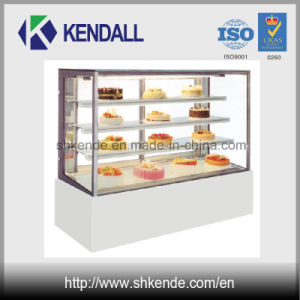 Upright Shape Commercial Bakery Display Freezer