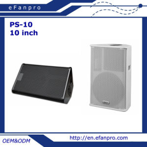 Hot Sale Single 10 Inch Audio Professional Speaker Box Audio System (PS-10)