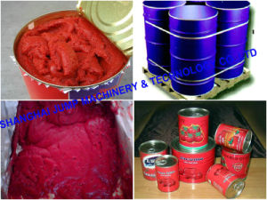 220L Aseptic Tomato Paste Concentrate Brix 28-30% Hot Break pictures & photos