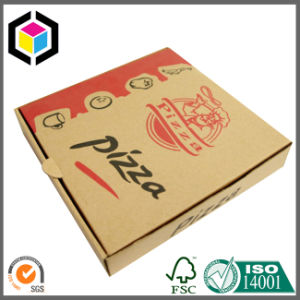Flexo Color Print Corrugated Cardboard Paper Pizza Packaging Box
